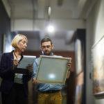 Art Curators in Museum